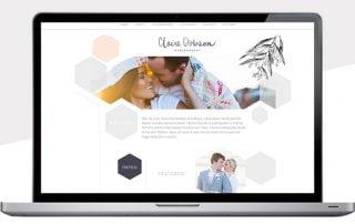 Webdesign trend geometrische vormen