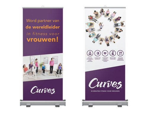 Roll-up Banners | Curves Holland