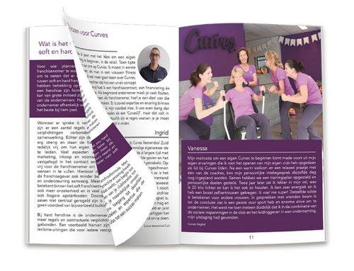 Franchise magazine | Curves Holland