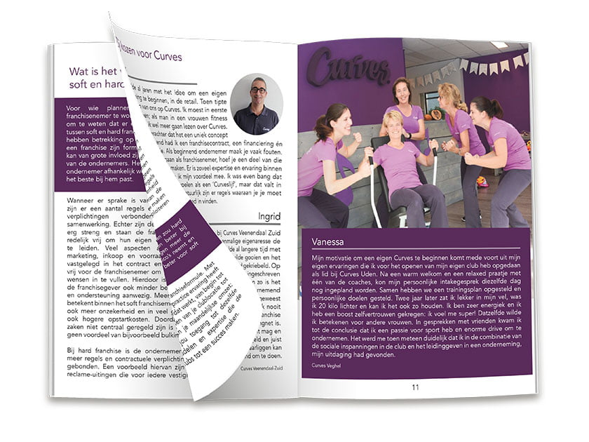 Curves Holland Franchise magazine