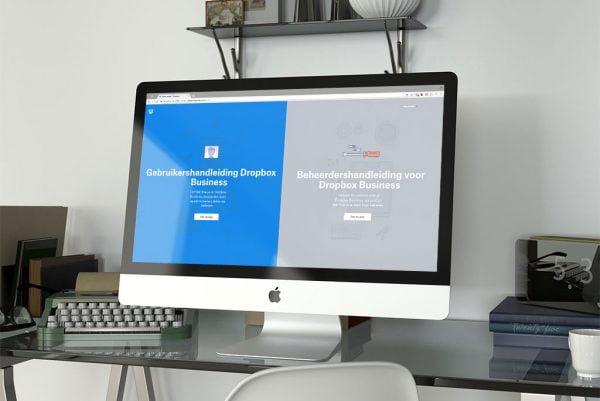 Webdesign trends 2018 Splitscreen