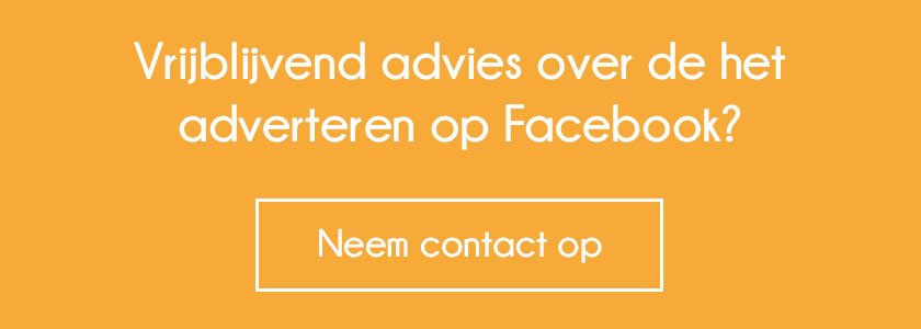 Neem contact op Facebook adverteren
