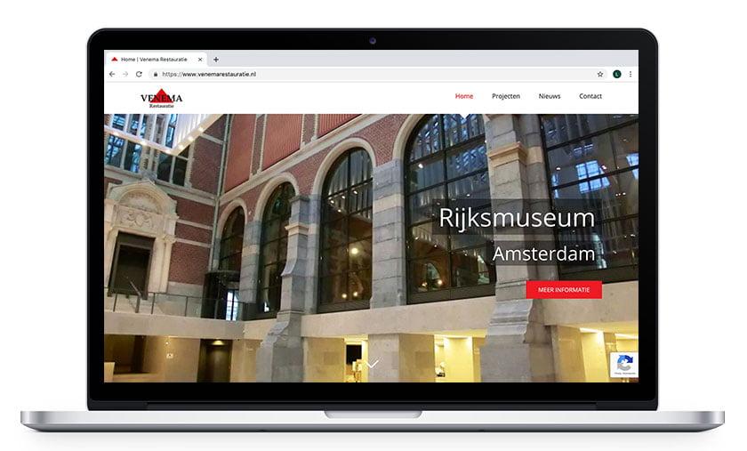 Webdesign Venema Restauratie