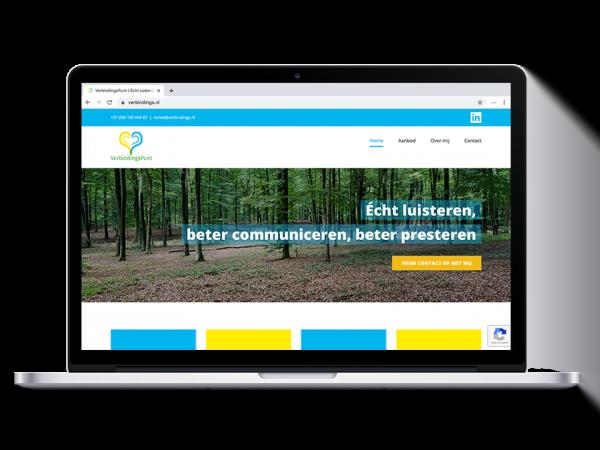 VerbindingsPunt webdesign